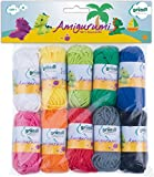 Gründl Amigurumi - Set I Cotone, Multicolore, 19.50x18.00x2.60 cm