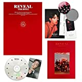 THE BOYZ 1st Album - Reveal [ WOLF ver. ] CD + Booklet + Post Card + Photo Cards + Fortune Card + FREE GIFT / K-pop Sealed