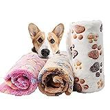 Blanket Pet Molle dell'animale Domestico di Inverno del Cane del Gatto Bed Mat Stampa Caldo Letto Materasso Small Medium Cani Gatti Corallo del Panno Pet Forniture 11pcs