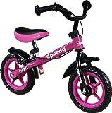 ARTI Bicicletta Senza Pedali - Balance Bike - Bike - Biciclette per Bambini - Bici - Prima Bicicletta Speedy M Luxe Pink/Rosa First Bike