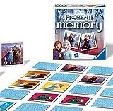 Ravensburger Italy Disney Frozen 2 Memory in Formato Pocket, 15x15 cm, Gioco, 24 Coppie in Cartone, 48 Carte, per Bambini a Partire da 4 Anni, da 2 a 8 Giocatori, Multicolore, 0, 20437 3