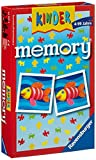 Ravensburger 23103 - Memory, Edizione per Bambini, da Viaggio