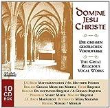 Domine Jesu Christe: The Great Religious Vocal Works - St. Matthew Passion / Requiem / Stabat Mater / Magnificat / Missa Solemnis / Messiah by Domine Jesu Christe