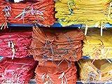 Bratpol - 200 pezzi di sacchi in rete per patate, cipolle, varie misure 35 x 50 cm/5 kg, 40 x 63 cm/10-15 kg, 50 x 80 cm/25-30 kg (0,11 € – 0,18 €/pezzo)