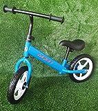 GT-LUX Balance Bike - Bici Senza Pedali, età dai 2 ai 5 Anni - Ruote da 12 Pollici - Nero, Blu, Rosso (Blu)