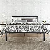 Zinus Mia Modern Studio 35,5 cm Rete del letto in metallo 1500H / Base del materasso/ Non sono necessarie le molle/ Supporto resistente in legno per letto/ Montaggio facile/ 120 x 190 cm