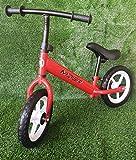 GT-LUX Balance Bike - Bici Senza Pedali, età dai 2 ai 5 Anni - Ruote da 12 Pollici - Nero, Blu, Rosso (Rosso)