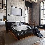 Farmarelax Materasso Dual Comfort,160x190 cm, Altezza 28cm Memory Foam 6 cm Doppio Comfort,Ortopedico, ergonomico, Avvolgente, Memo Bicomfort