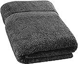 Utopia Towels - Asciugamani da Bagno Grande, Teli Bagno - Confezione Singola - 90 x 180 cm (Grigio)