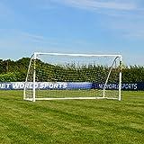 FORZA Partita Calcio Obiettivo | Obiettivi di Calcio di Alta qualità | Obiettivo di Gioco del Calcio - [Net World Sports] (3m x 2m)