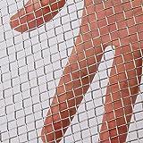 AIEX Rete Metallica Tessuta 5 in Acciaio Inossidabile 304 per la Rete di Protezione Della Ventilazione Dell'aria per Armadi Metallici per Schermi da Giardino Della Guardia Giurata - 30.5x61cm