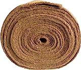 Mat protezione delle infestanti in fibra di cocco, 0,50 m x 5,00 m, circa 7 mm di spessore, 2,5 m², (8,76 EUR/m²), protettivo invernale, tappetino protezione vegetale, tappetino per compost